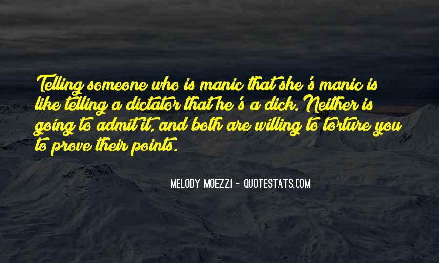 Bipolar Manic Quotes #127158