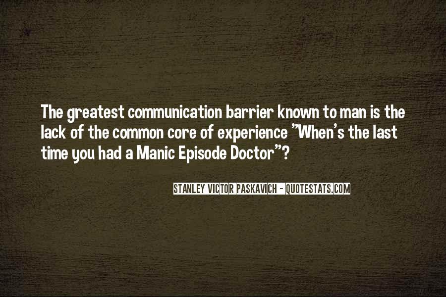 Bipolar Manic Quotes #381353
