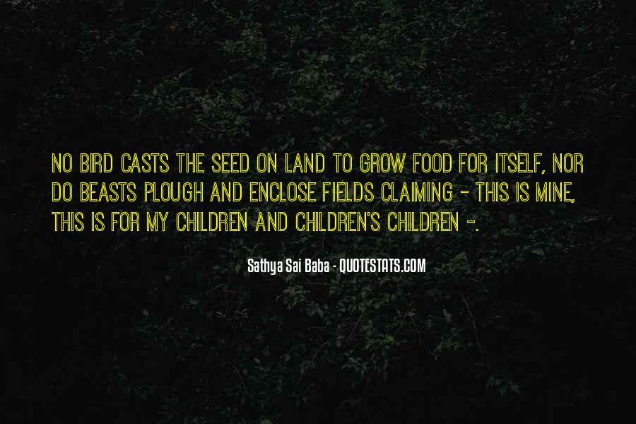 Bird Food Quotes #121536
