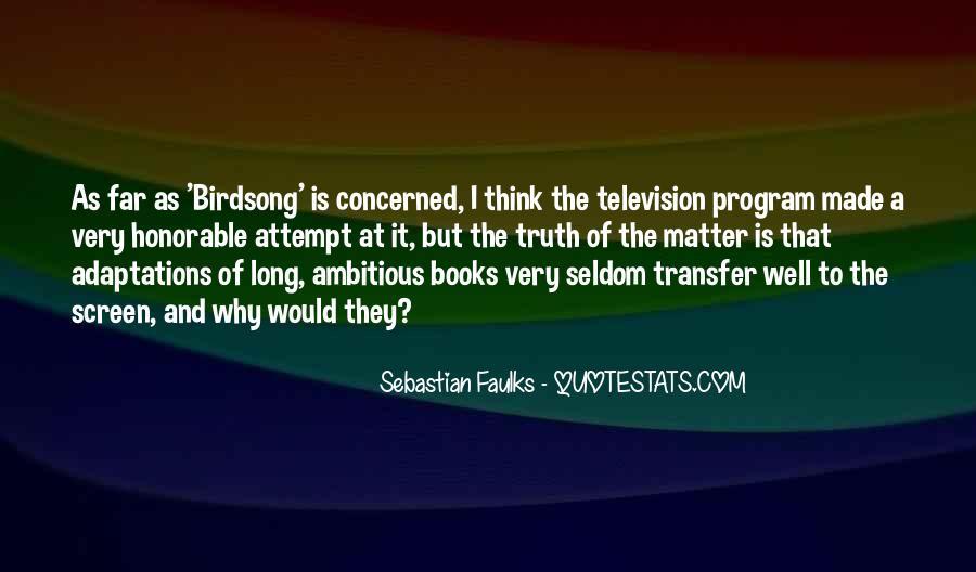 Bird Food Quotes #187787