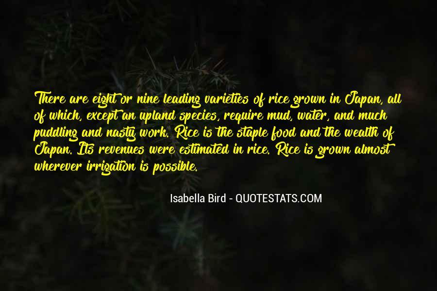 Bird Food Quotes #653152