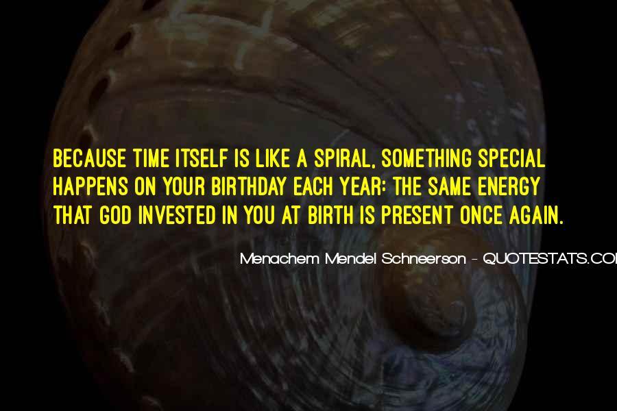 Birthday Present Quotes #1323989