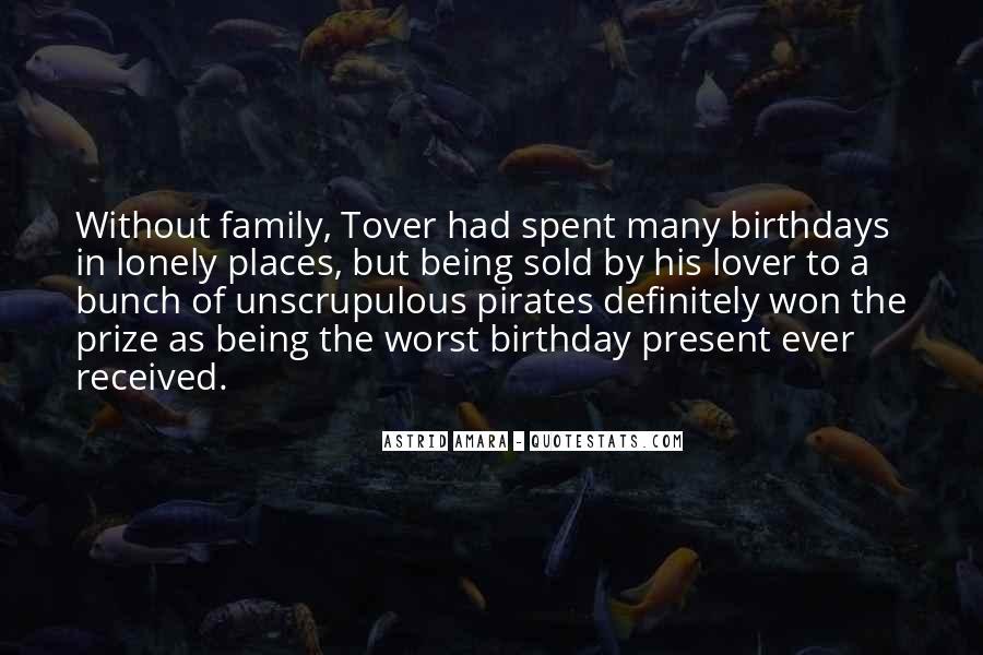 Birthday Present Quotes #264660