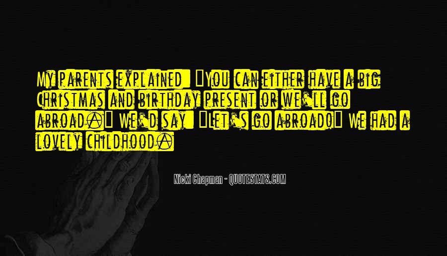 Birthday Present Quotes #294729