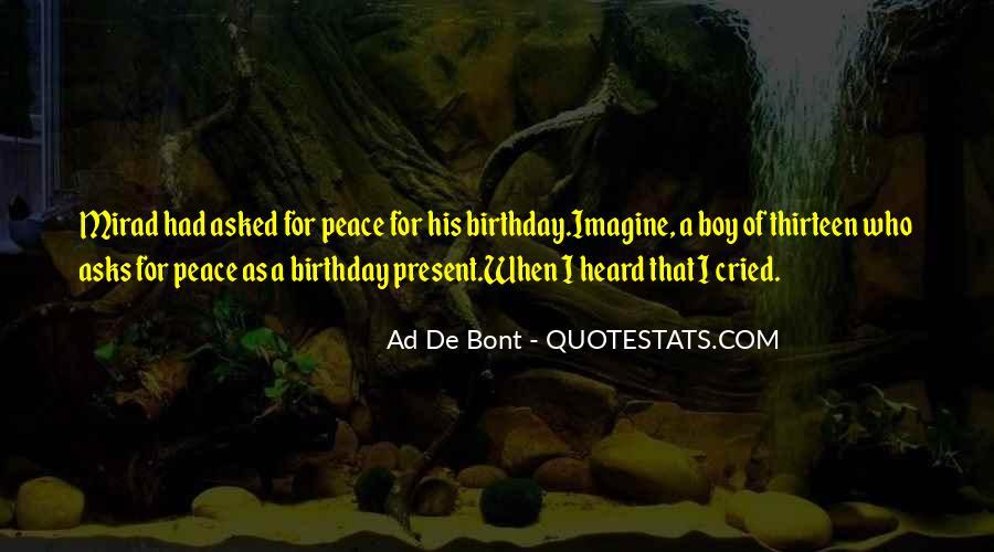Birthday Present Quotes #609529