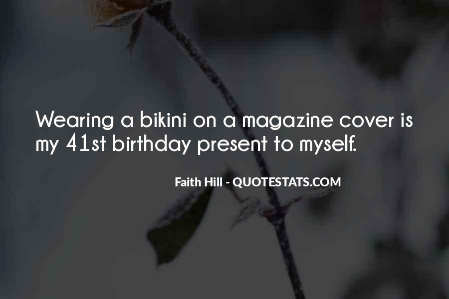 Birthday Present Quotes #651600
