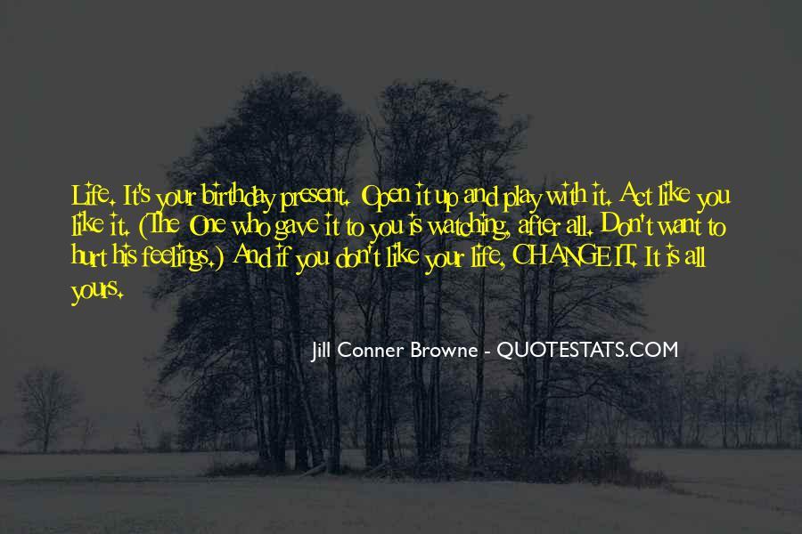 Birthday Present Quotes #75001