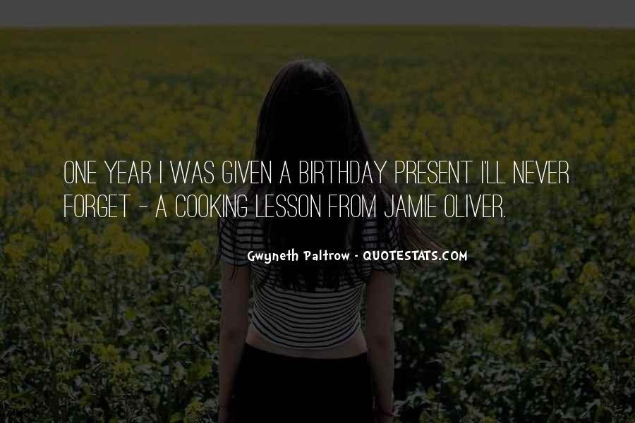 Birthday Present Quotes #82022