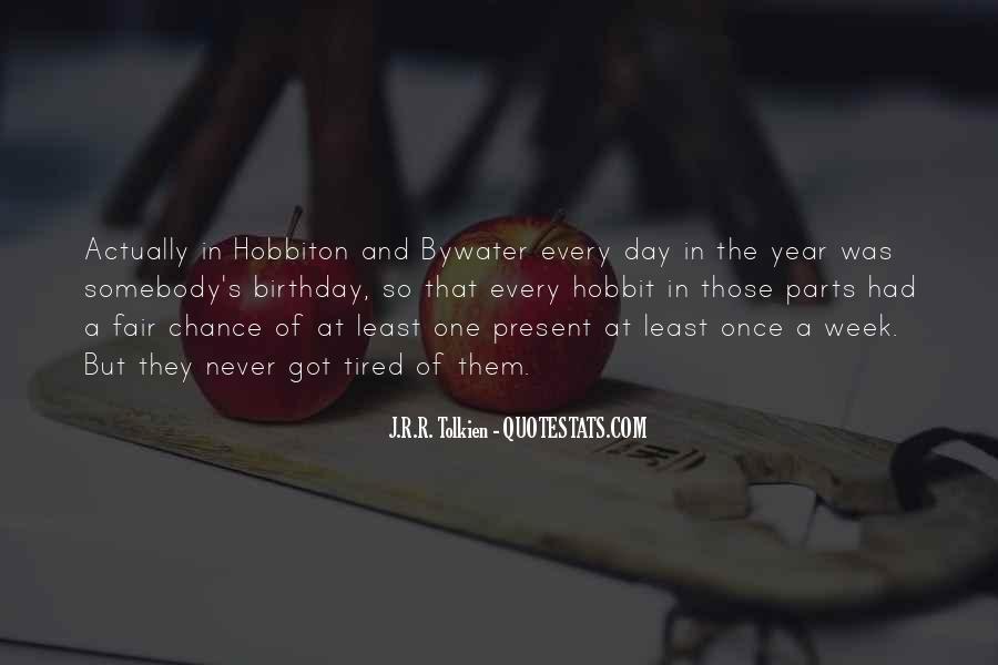 Birthday Present Quotes #954580