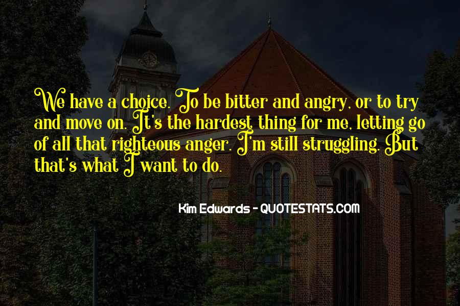 Bitter And Angry Quotes #840480