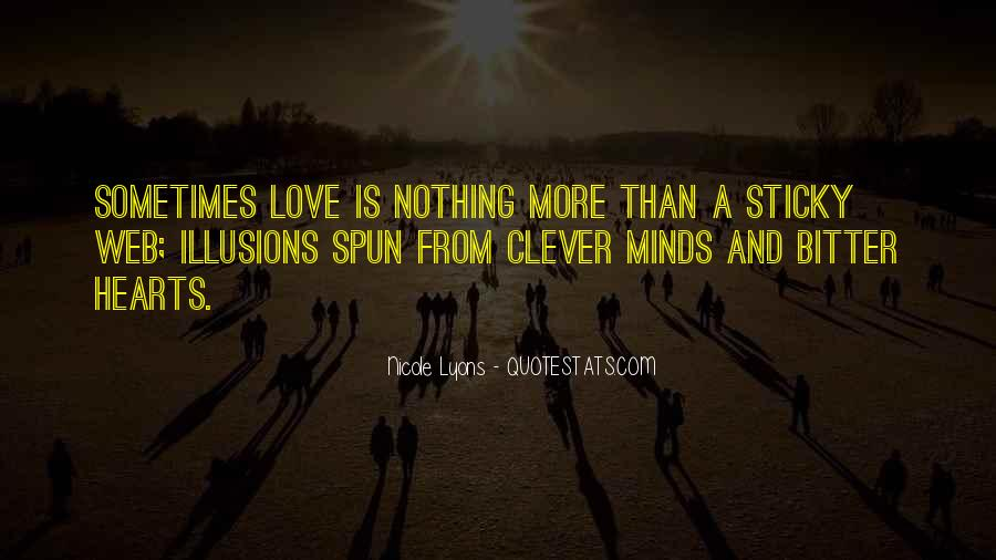 Bitter Truth Love Quotes #261075