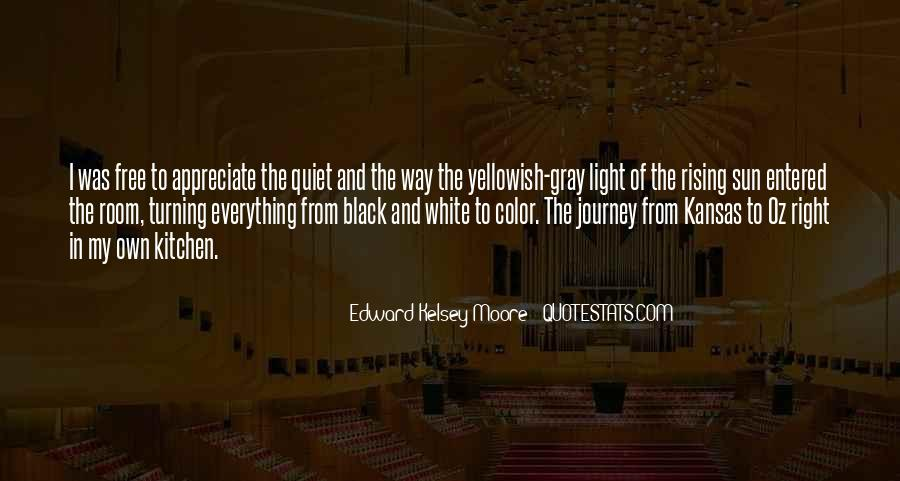 Black And White Light Quotes #1060977