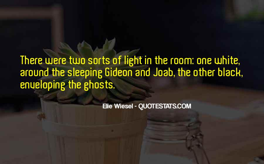 Black And White Light Quotes #1385648
