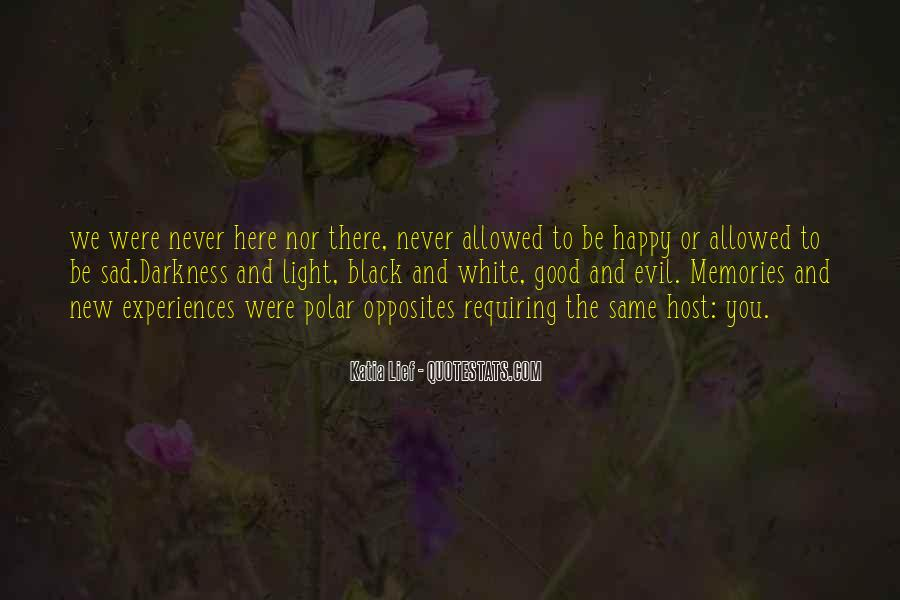 Black And White Light Quotes #386758