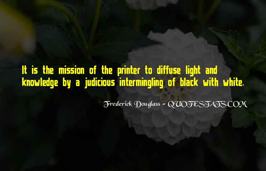 Black And White Light Quotes #39148