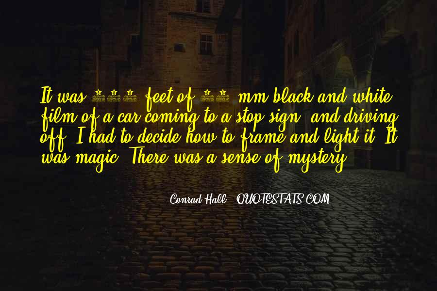 Black And White Light Quotes #654198