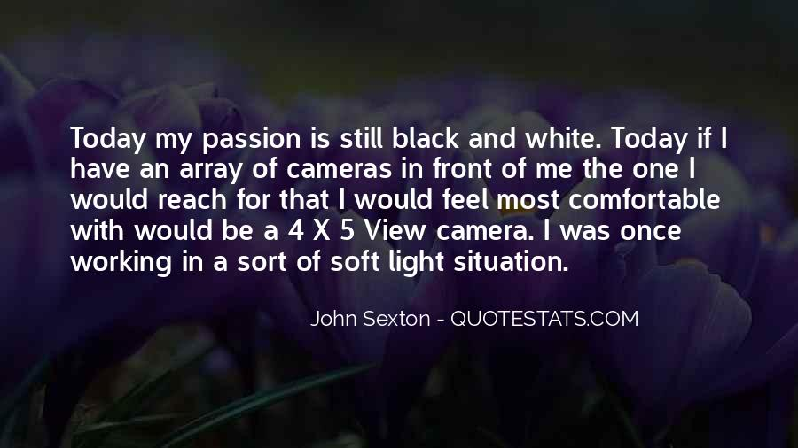 Black And White Light Quotes #799373