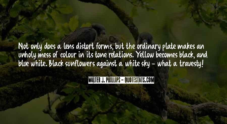 Black And White Sky Quotes #29167