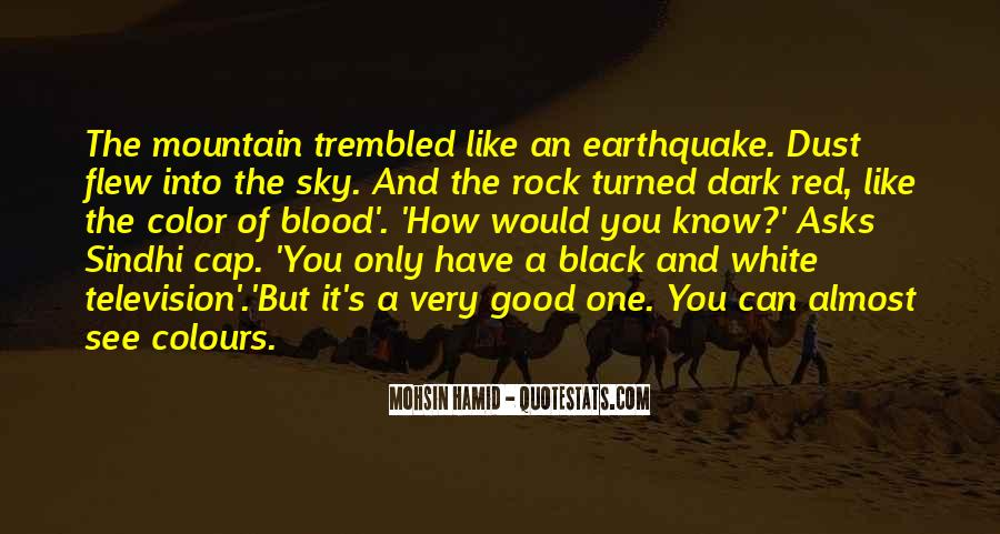 Black And White Sky Quotes #296880