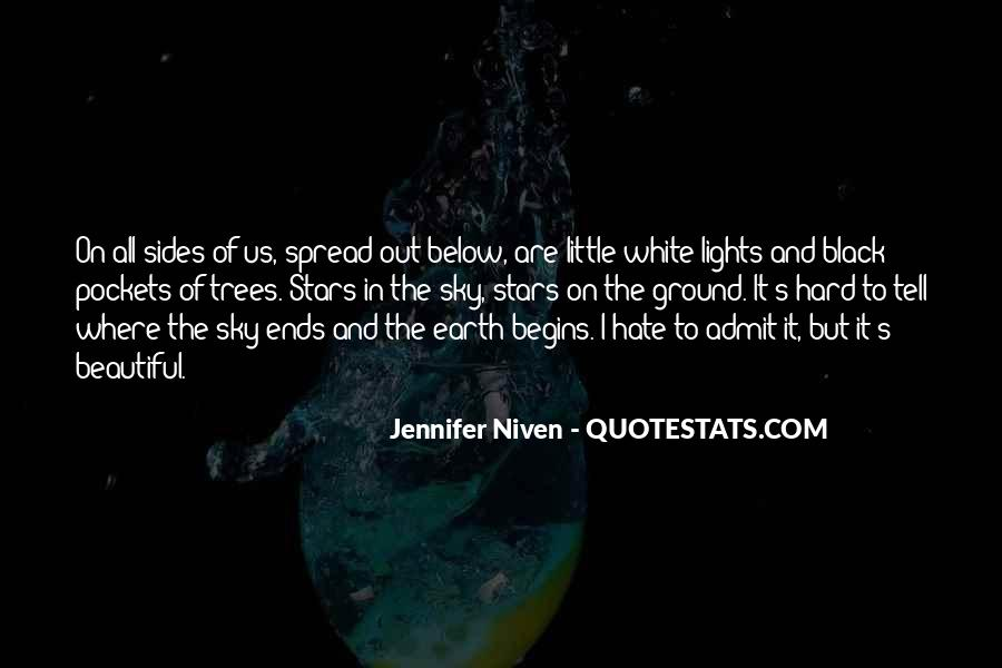 Black And White Sky Quotes #763013