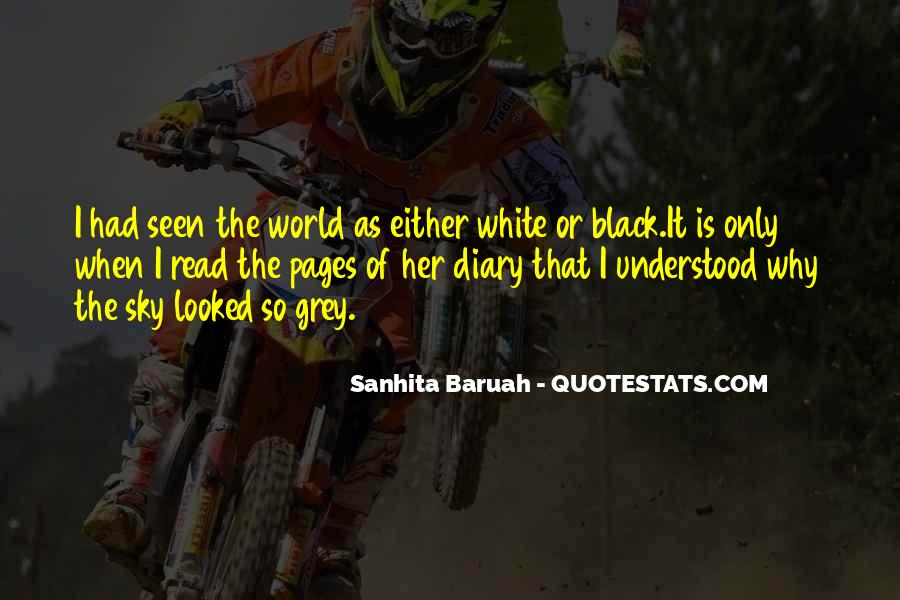 Black And White Sky Quotes #930960