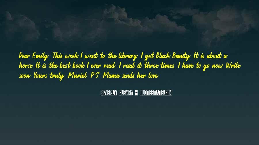 Black Book Quotes #1094522