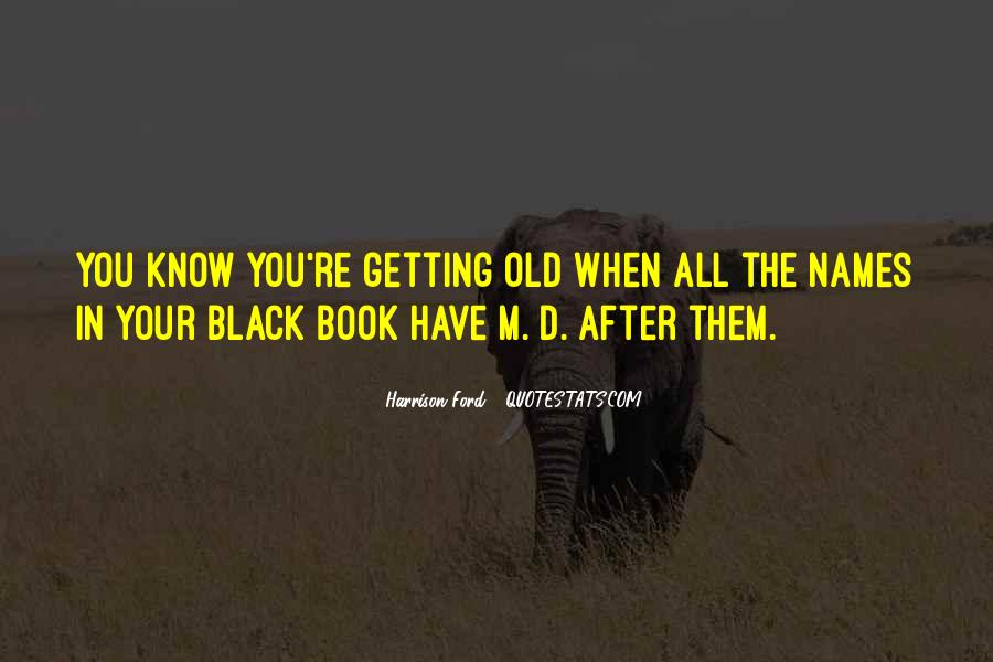 Black Book Quotes #440296