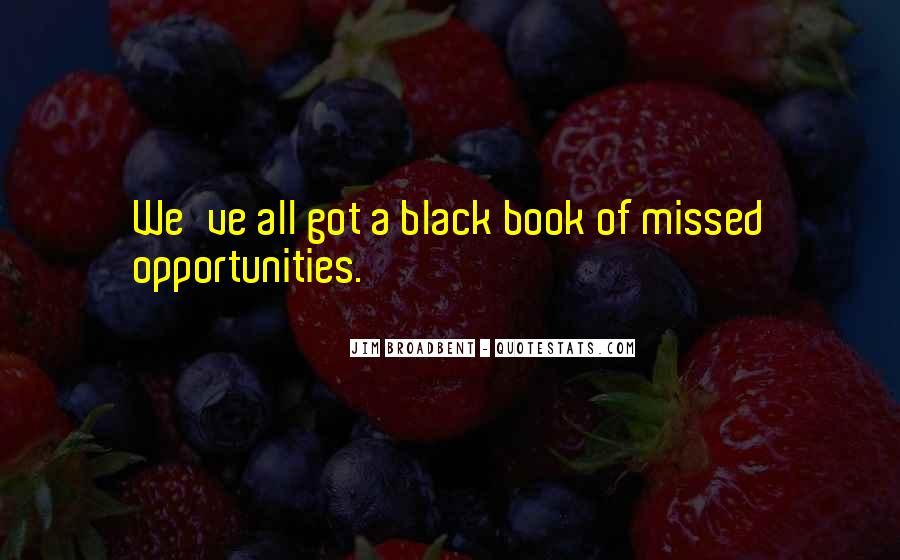 Black Book Quotes #456386