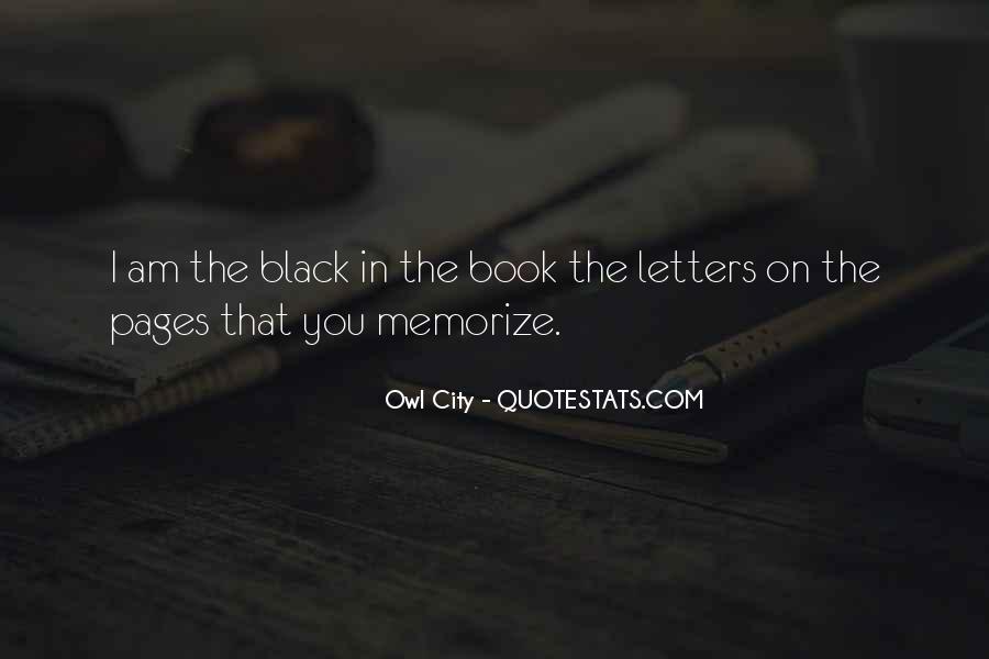 Black Book Quotes #518293