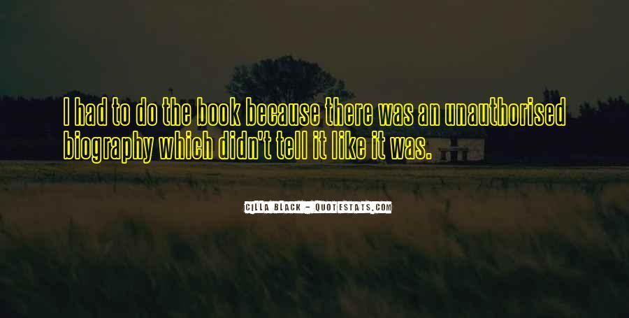 Black Book Quotes #527956