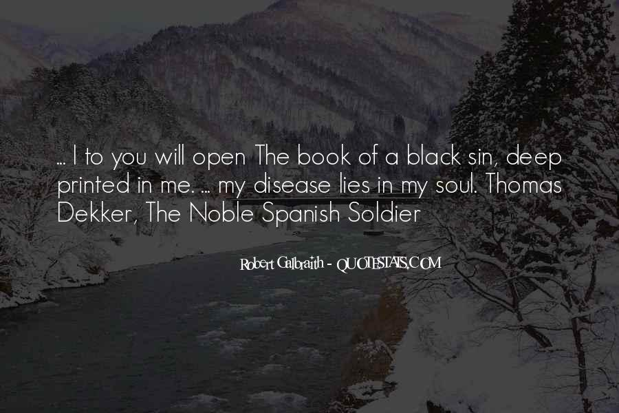 Black Book Quotes #597659