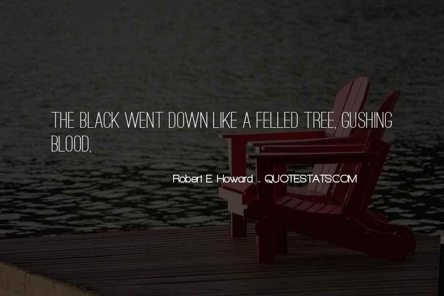 Black Down Quotes #14249