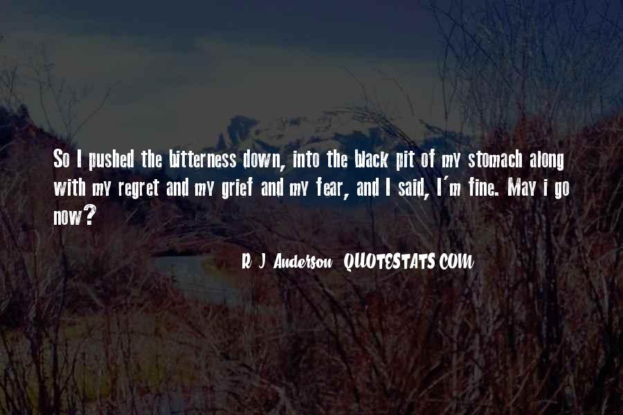 Black Down Quotes #66155