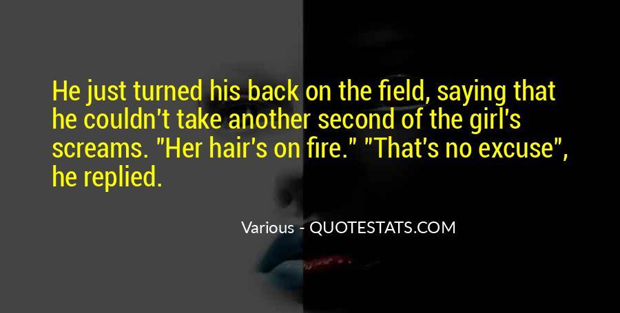 Black Flames Quotes #909046