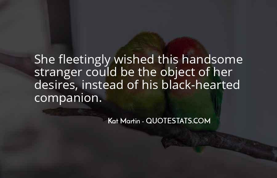 Black Hearted Quotes #1076542