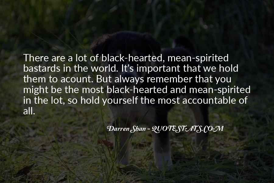 Black Hearted Quotes #1275798