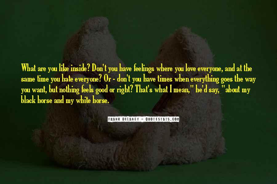 Black Horse Quotes #1052569