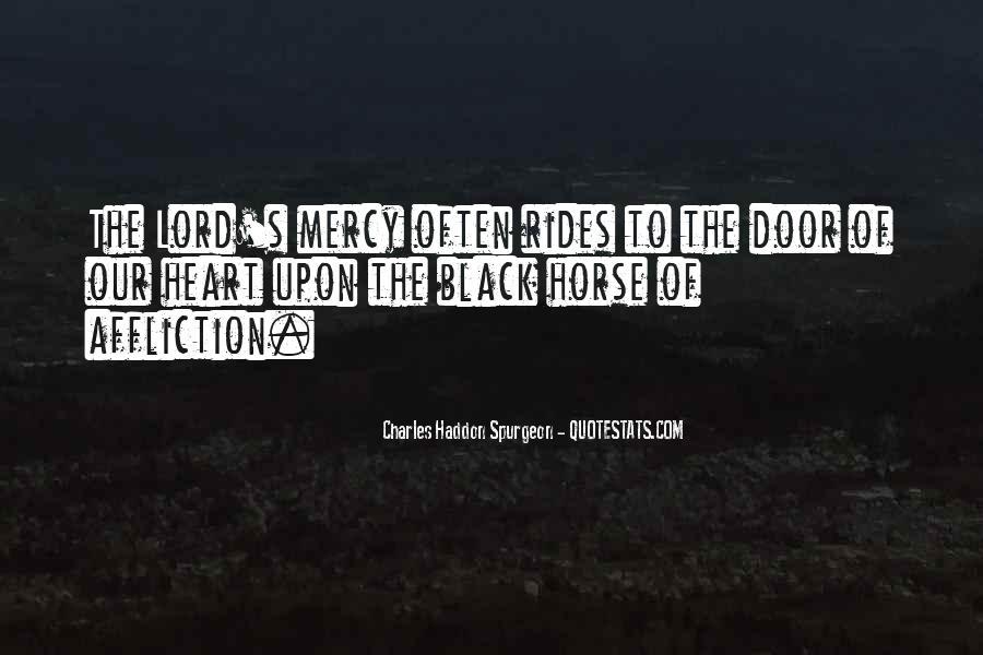 Black Horse Quotes #1455076