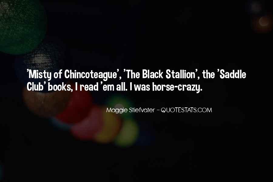Black Horse Quotes #1480022