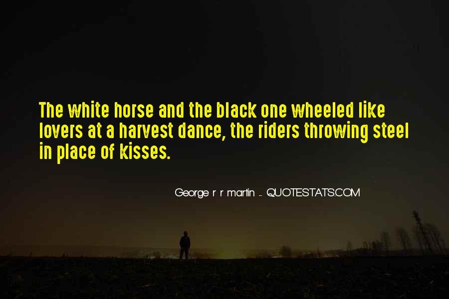Black Horse Quotes #1585395