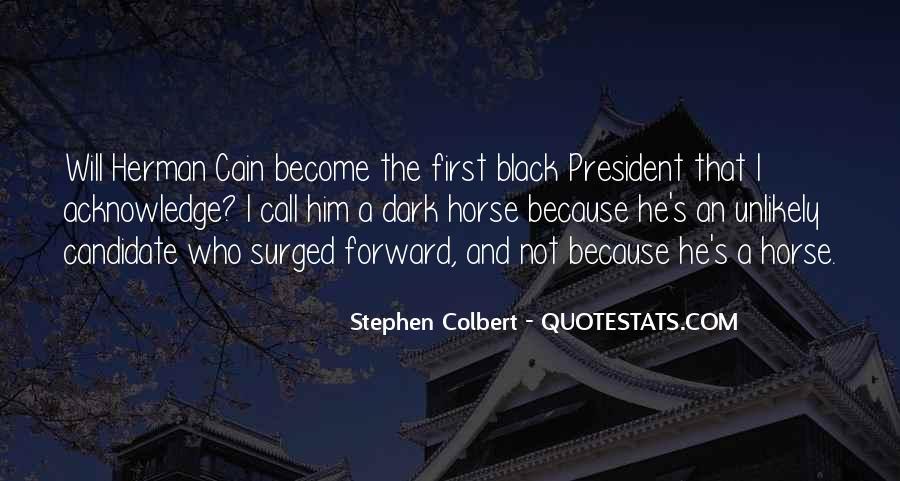 Black Horse Quotes #1753622