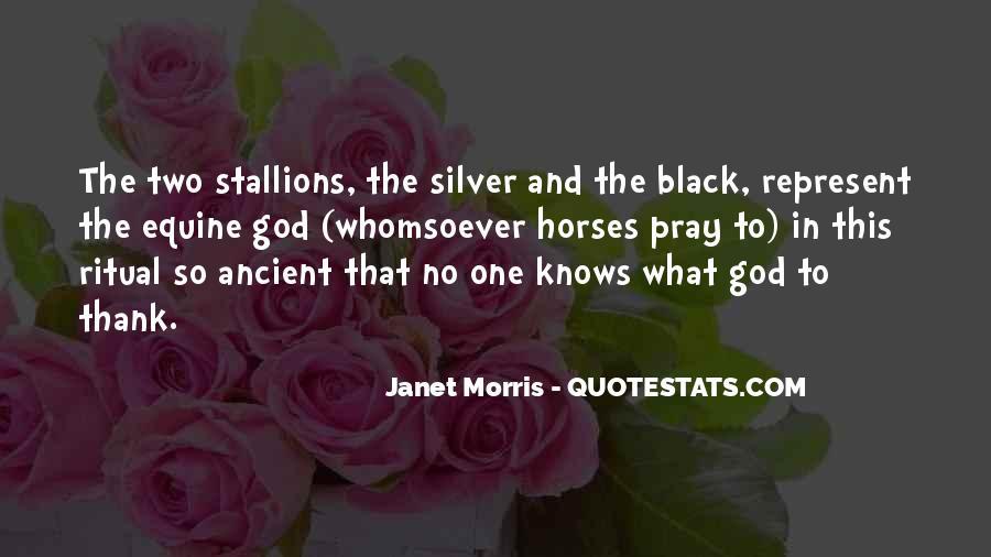 Black Horse Quotes #1782128