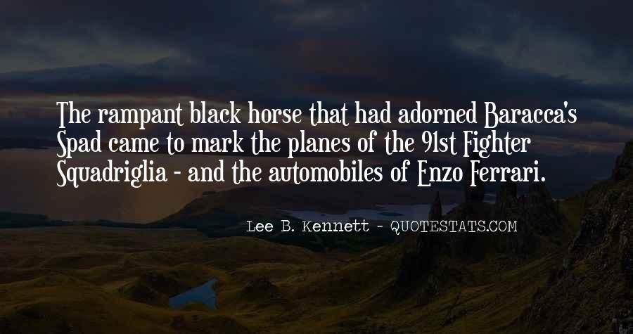 Black Horse Quotes #1866610