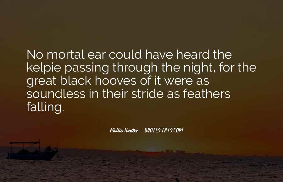 Black Horse Quotes #196024