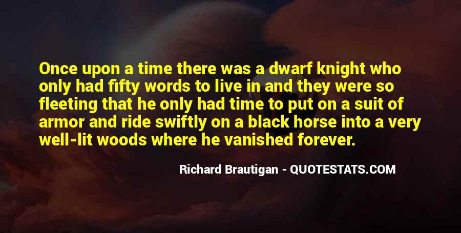 Black Horse Quotes #385159