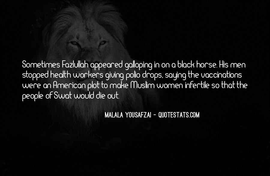Black Horse Quotes #559566