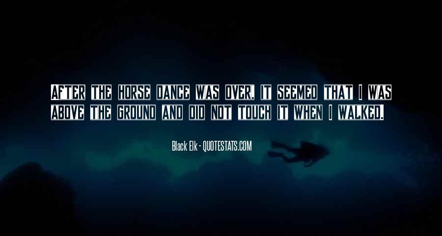 Black Horse Quotes #6220