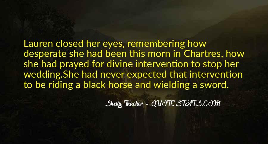 Black Horse Quotes #759925