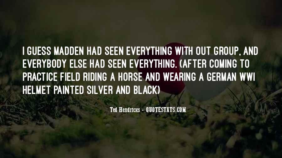 Black Horse Quotes #939404