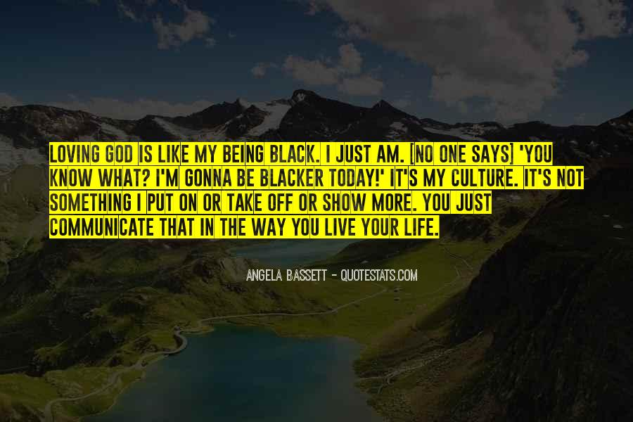 Blacker Than Black Quotes #1582745
